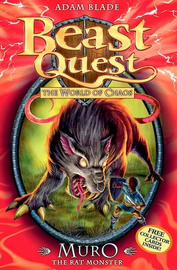 Beast quest series 6 32 muro the rat monster tom seeks the second
