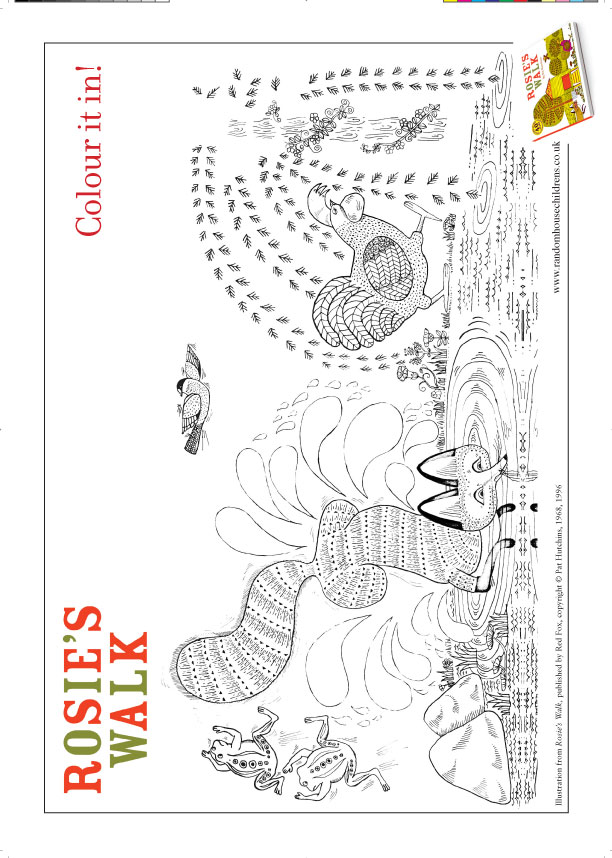 Reading book coloring page