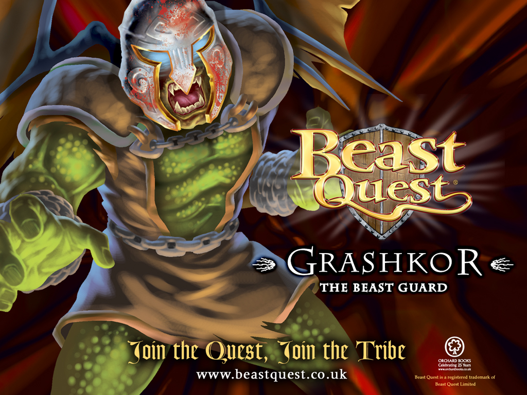 Beast Quest Grashkor wallpaper  Scholastic Kids39; Club