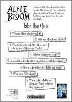 Alfie Bloom Quiz