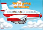 We're going on holiday – poster