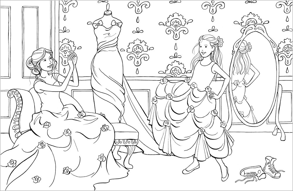 coloring pages 10 virgins - photo#21