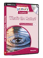 Toys Scholastic Primary Science: Matter and Energy - What's the Matter? Planning and Assessment CD-ROM