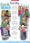 'First day' poem  – starting a new school year