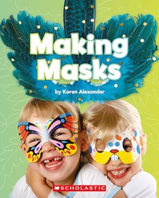 Guided Readers: Making Masks x 6