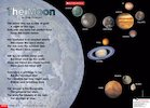 The Moon – poem poster