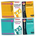 Scholastic English Skills: Grammar and Punctuation/Handwriting Reception-Year 2 Pack x 62