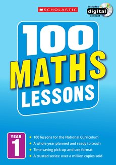 100 Maths Lessons: Year 1