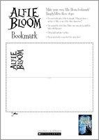 Alfie Bloom Bookmark - Free Downloadable