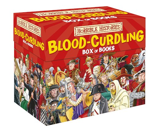 Blood-curdling Box - Terry Deary