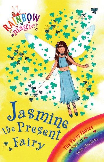 rainbow magic party fairies 21 jasmine the present fairy scholastic kids 39 club. Black Bedroom Furniture Sets. Home Design Ideas