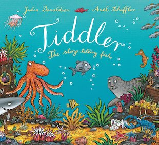 Tiddler is most borrowed book in scotland scholastic uk for Fish children s book