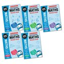 National Curriculum Revision: Maths Revision Guides Years 2-6 Set x 6 (30 books)