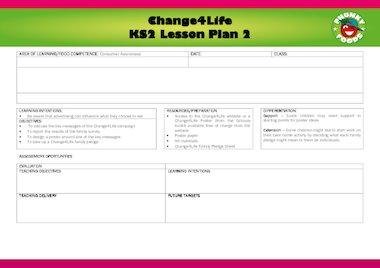 Healthy eating – lesson plan 2 – FREE Primary KS2 teaching ...