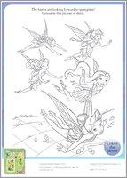 Disney Fairies colouring