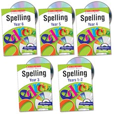 Scholastic Literacy Skills: Spelling Complete Pack