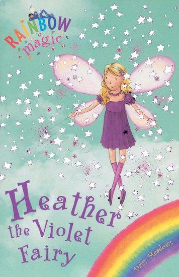 rainbow magic rainbow fairies 7 heather the violet fairy scholastic kids 39 club. Black Bedroom Furniture Sets. Home Design Ideas