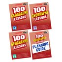 100 Geography Lessons for the 2014 Curriculum Set x 4