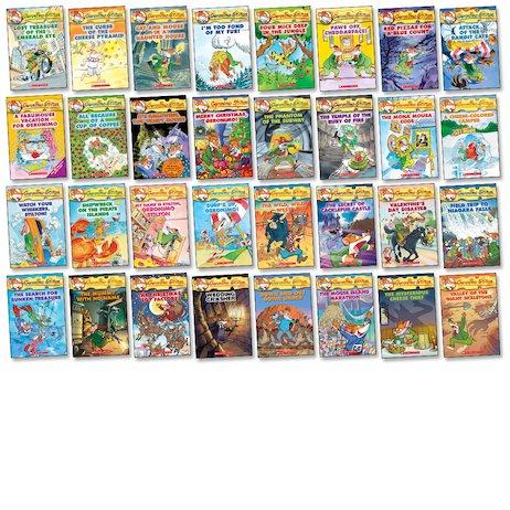 Geronimo Stilton Books 1 thru 10 plus 40,47 and 53 (13 Book Pack!)