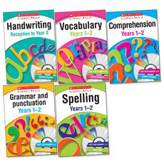 Scholastic Literacy Skills Complete Pack: Years 1-2