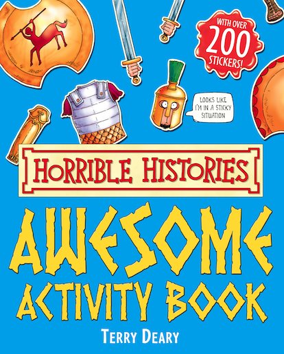 Awesome Activity Book - Terry Deary