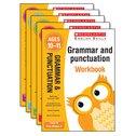Scholastic English Skills: Grammar and Punctuation Workbooks Years 1-6 Set x 6 (30 Books)