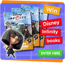 Win Disney Infinity books