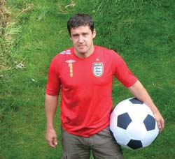 Tom Palmer — author of the new Football Detective series
