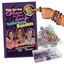 Make Your Own Glow-in-the-Dark Rubber Band Bracelets