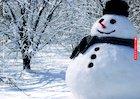 Snowman mini poster