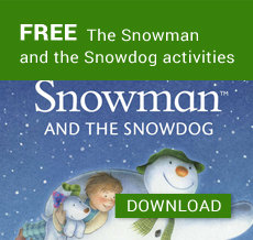 FREE The Snowman and the Snowdog activities