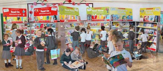 Scholastic Book Fair. Book Fair image 2 - 2009