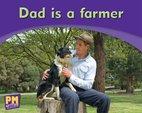 PM Writing Emergent: Dad is a Farmer (PM Magenta) Levels 1, 2 x 6