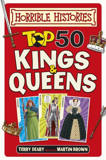Top 50 Kings and Queens - Terry Deary
