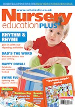 Nursery Education PLUS cover