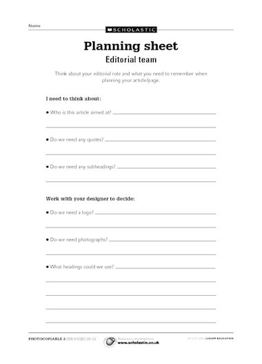 creative writing planning sheets We'll help you tell your storywe are story tellers at heart we believe there is an art to telling the right story to the right people at the right timeand we're good at it.