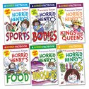Horrid Henry Factbooks Pack x 6