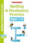 Scholastic English Skills: Spelling and Vocabulary Workbook (Year 3) x 6