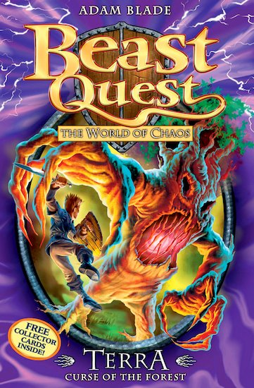 Beast Quest Series 6 #35: Terra, Curse of the Forest - Scholastic Kids ...: clubs-kids.scholastic.co.uk/products/76932