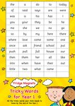 Fridge Magnets - Tricky Words for Year 1