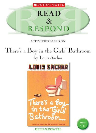 Read Respond There S A Boy In The Girls Bathroom Scholastic Shop