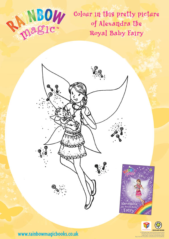 Rainbow Magic Alexandra Colouring