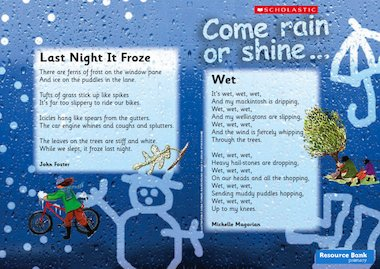 come rain or shine guided reading leaflet primary ks1