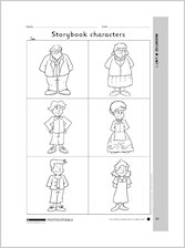 Storybook characters