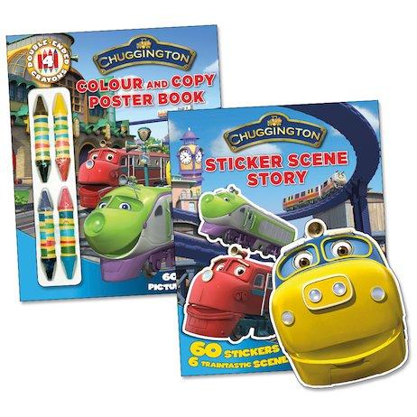 chuggington activity pack scholastic book club thomas sticker 3 per pak speelgoed treinen