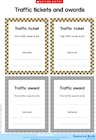 Traffic tickets and awards