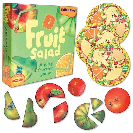 Fruit Salad Fraction Game