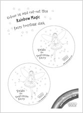 Rainbow Magic Fairy Disk