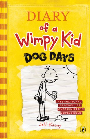 Diary Of A Wimpy Kid Dog Days Reading Log