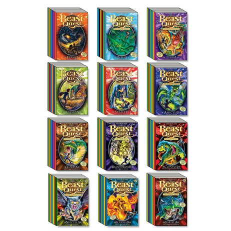 Beast quest mega pack series 1 12 the ultimate pack of the ultimate